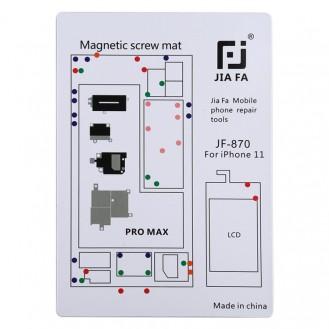 Magnetpad-Schraubbrett für iPhone 11 Pro Max