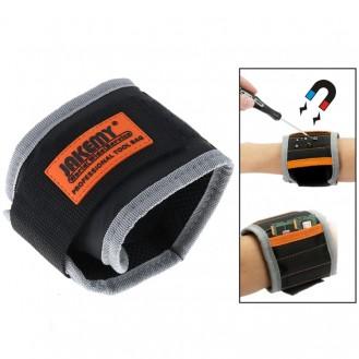 Magnetspeicher-Armbänder zum Halten von Schrauben, Nägeln und Bohrern