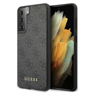 Guess - Charms - 4G - G996F Galaxy S21+ - Grau - Hard Cover Case Schutzhülle Hülle