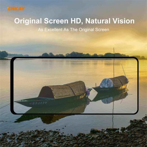 Samsung Galaxy A72 5G Enkay Temperiertes Glas Full-Kleber