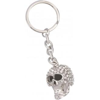 Bling Schlüsselanhänger Totenkopf