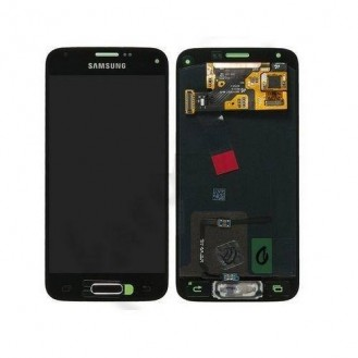 Original Schwarz LCD Samsung Galaxy S5 Mini SM-G800F