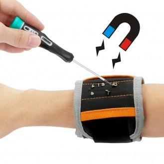 Magnetspeicher-Armbänder zum Halten von Schrauben