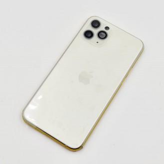iPhone 11 Pro Gehäuse Glas Backcover Rückdeckel Akkudeckel Silber