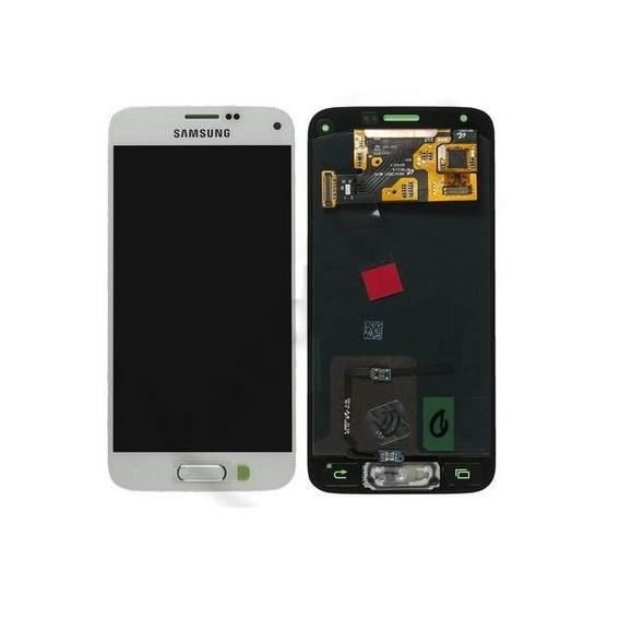 Original Weiss LCD Samsung Galaxy S5 Mini SM-G800F