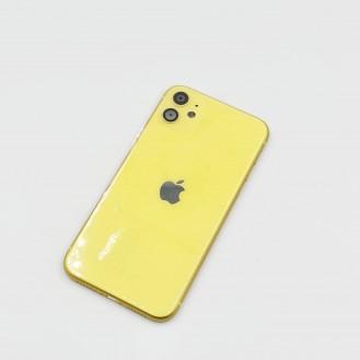 iPhone 11 Gehäuse Glas Backcover Rückdeckel Akkudeckel Gelb