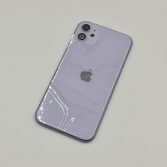 iPhone 11 Gehäuse Glas Backcover Rückdeckel Akkudeckel Violett