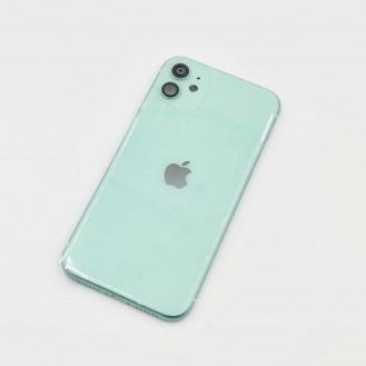 iPhone 11 Gehäuse Glas Backcover Rückdeckel Akkudeckel Grün