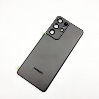 Samsung Galaxy S21 Ultra OEM Backglass Akku Deckel Phantom Titanium