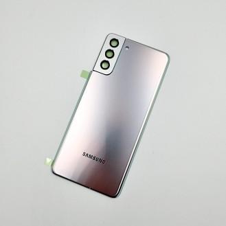 Samsung Galaxy S21 Plus OEM Backglass Akku Deckel Phantom Silber