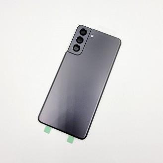 Samsung Galaxy S21 OEM Backglass Akku Deckel Phantom Grau