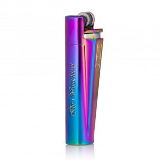 Clipper Feuerzeug - New Mix Farbe  (Auf Wunsch mit Gravur)