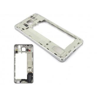 Samsung Galaxy Alpha Mittel Rahmen Silber