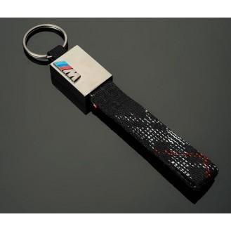 BMW M Power Schlüsselanhänger Leder  (Auf Wunsch mit Gravur)
