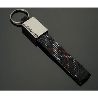 AMG Schlüsselanhänger Leder  (Auf Wunsch mit Gravur)