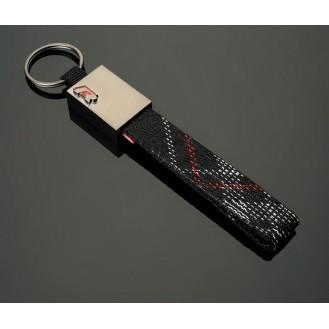 R-Racing Schlüsselanhänger Leder  (Auf Wunsch mit Gravur)
