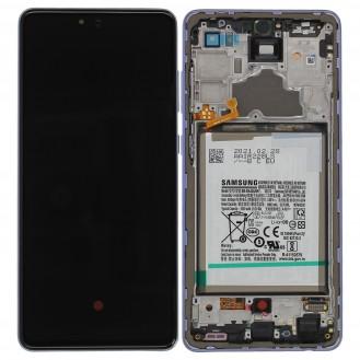 Samsung Galaxy A32 5G A326B LCD Display inkl. Akku, Schwarz