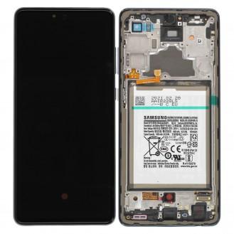 Samsung Galaxy A72 A725F LCD Display, Schwarz