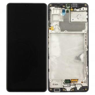 Samsung Galaxy A42 5G A426B/DS LCD Display, Schwarz
