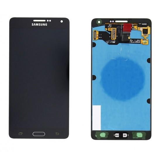 Original Schwarz LCD Samsung Galaxy A7 SM-A700