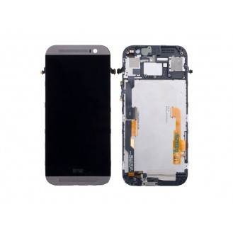Original HTC One M8 LCD Display Silber