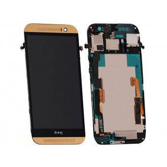 Original HTC One M8 LCD Display Gold