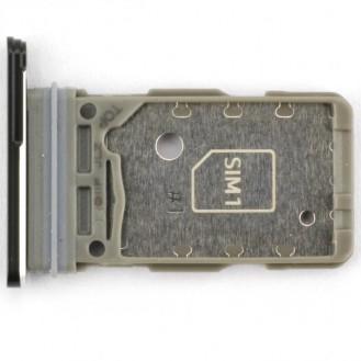 Samsung Galaxy S21+ G996B/DS Sim Tray (Dual Sim) ZK Schwarz Phantom Black Sim-Kartenfach
