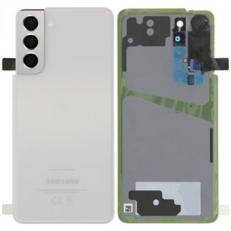 Samsung Galaxy S21 G991B/DS Akkudeckel, Phantom Weiß Serviceware
