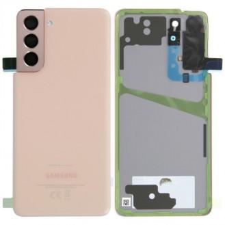 Samsung Galaxy S21 G991B/DS Akkudeckel, Phantom Pink Serviceware