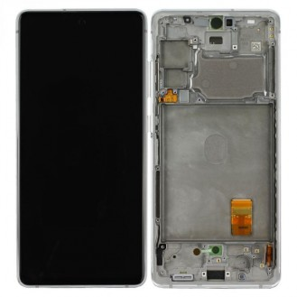 Samsung Galaxy S20 FE G780 LCD Display, Cloud Weiss Serviceware