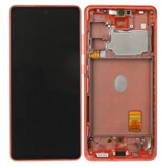 Samsung Galaxy S20 FE G780 LCD Display, Cloud Red Serviceware