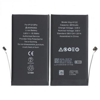 Akku kompatibel mit iPhone 12 (A2403), iPhone 12 Pro (A2407) inkl. Akkuklebestreifen