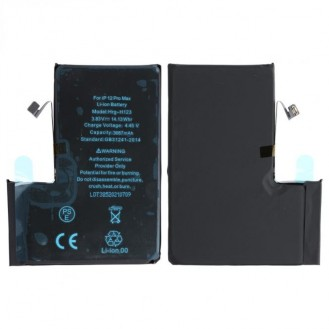 Akku kompatibel mit iPhone 12 Pro Max (A2411) inkl. Akkuklebestreifen