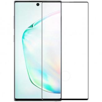 Nillkin 3D CP+MAX Panzerglas Vollbild Hartglas mit Rahme 0.33 MM 9H für Samsung Galaxy Note 20 Ultra schwarz
