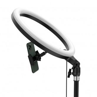 Baseus Fotolampe Ringblitz ring flash fill light Licht füllen LED 12'' (YouTube, TikTok)