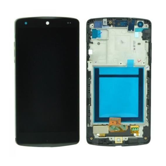 LCD Display LG D820 Google Nexus 5 mit Rahmen Komplett