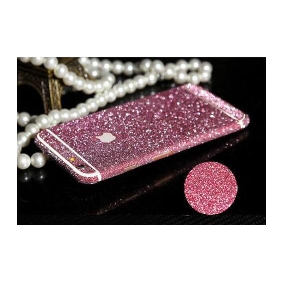 iphone 6 6S Pink Bling Aufkleber Folie Sticker Skin