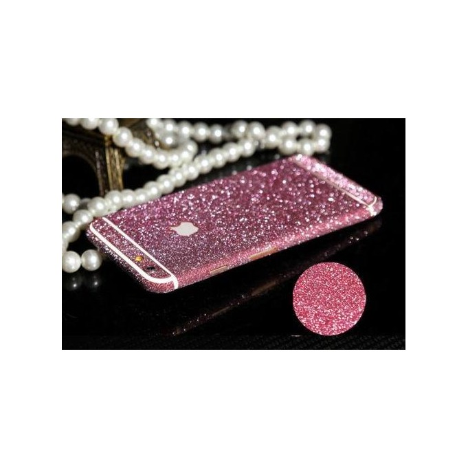 iphone 6 6S Pink Bling Aufkleber Folie Sticker Skin