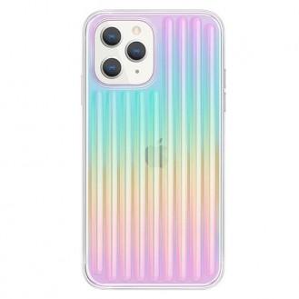 UNIQ Coehl Linear Hülle für iPhone 12 Pro / iPhone 12 mehrfarbig