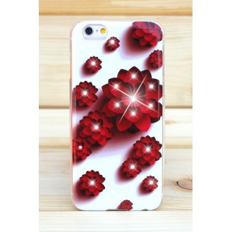 Beckberg Rose Luxus Bling TPU Case iPhone 6