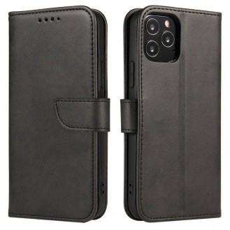 Magnet Case booktype case schutzhülle aufklappbare hülle für Samsung Galaxy A42 5G schwarz