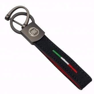 Alfa Romeo SchlüsselanhFiat Schlüsselanhänger Leder  (Auf Wunsch mit Gravur)änger Leder  (Auf Wunsch mit Gravur)