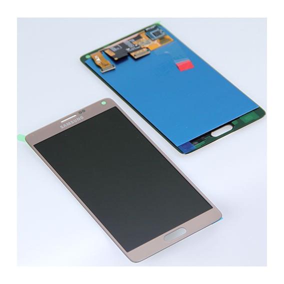 Original Samsung Galaxy Note 4 SM-N910 LCD Display Gold
