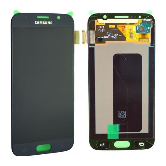 Original Samsung Galaxy S6 SM-G920 LCD Display Schwarz