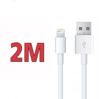 2 Meter USB Ladekabel iPhone