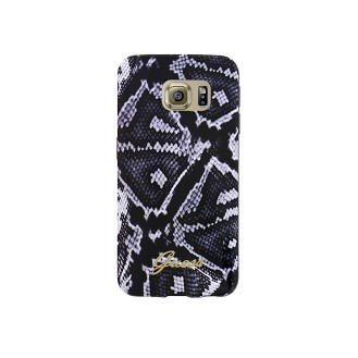 TPU Case Guess Leopard für Samsung G920F Galaxy S6 Schwarz