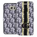 Book Case Guess G-Cube für Samsung G925F S6 Edge Schwarz