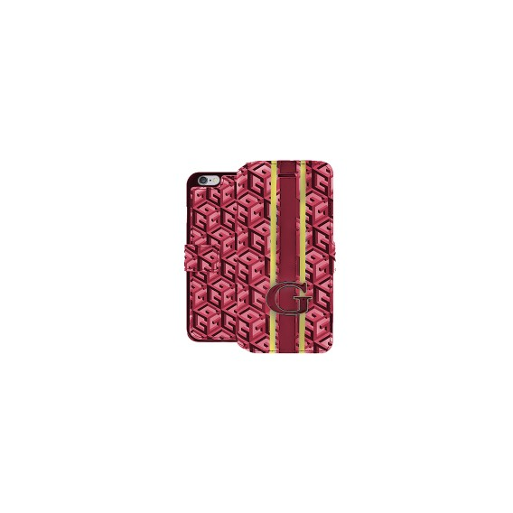 Book Case Guess G-Cube für iphone 6 und 6s Rot