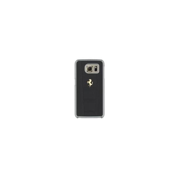 Ferrari 458 Leder Hard Case für Samsung G920F Galaxy S6