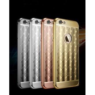 Grau LUXUS Aluminium Spiegel Bumper Case iphone 6 / 6S